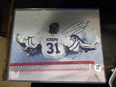 Curtis Joseph Autographed 8x10 Toronto Maple Leafs