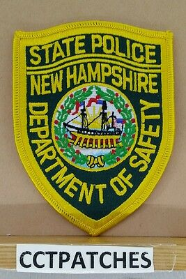 New Hampshire State Police Dept Of Safety Shoulder Patch Nh 2