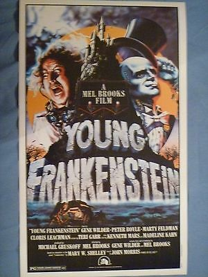 Topps Original Mini Movie Poster - Young Frankenstein - New