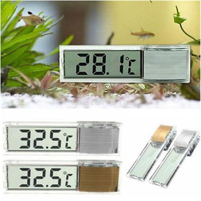 Digital LCD Fish Tank Aquarium Thermometer Temperature Electronic Induction US