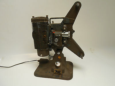 Vintage Keystone Model A-8 Portable 8mm Film Projector w/ Case - Made in USA