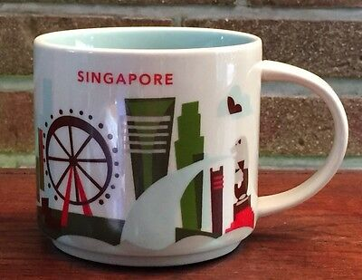 Starbucks You Are Here Collection Singapore NEU mit SKU Nummer