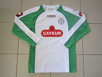 Rare Caykur Rizespor match worn away football shirt jersey long sleeve M Turkey