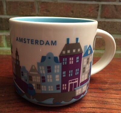 Starbucks You Are Here Collection Amsterdam  NEU mit SKU Nummer