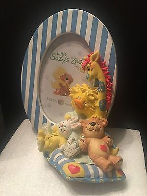 "Little Suzy's Zoo Baby Picture Frame, Holds 3.5"" x 5"", New in Box"