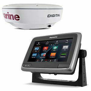Raymarine RD418D Digital Radome with 10m Cable and a78 MFD Bundle