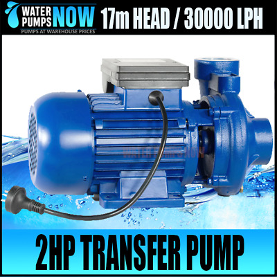 240 Volt 2DK20 High Flow Water Transfer Farm Pump 500lpm 30,000 lph 17m Head