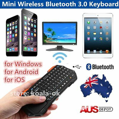 Mini Wireless Bluetooth 3.0 Keyboard Mouse Touchpad for Windows&Android&iOS OK