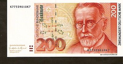 GERMANY 200 MARK  banknote