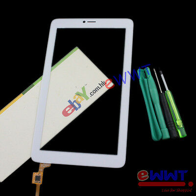 White 80701-OA5787A LCD Touch Screen+Tools for Alcatel Pixi 3 7 3G 9002X ZVLU204