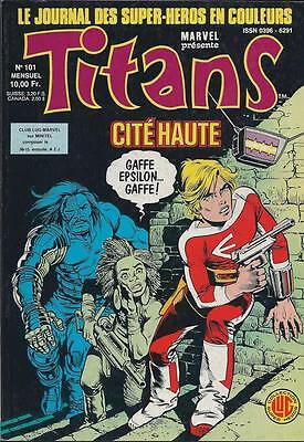 Titans 101 -  Editions Lug - Semic