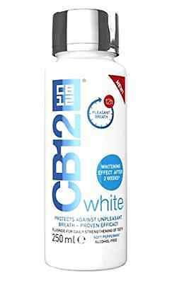 CB12 White Mouthwash 250ml Whitening Effect After 2 weeks and Fresh Breath (NEW!
