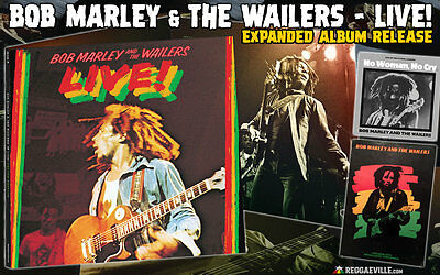 BOB MARLEY ~ LIVE ~ EXPANDED 3 x 180gsm VINYL LP ~ TOUR PROGRAM ~ D'LOAD ~ *NEW*