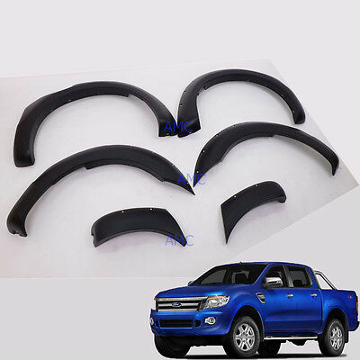 "For 2012-15 Ford Ranger T6 Fender Flare 6"" Wheel Arch Off-Road Wildtrack Px"