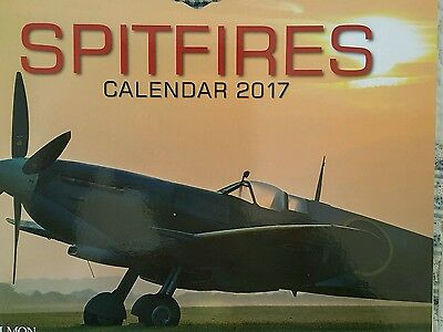 The Official Spitfire Society'Spitfire' calendar 2017