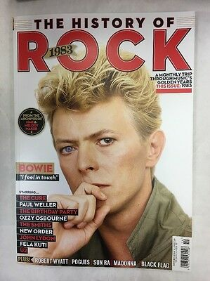 HISTORY OF ROCK Magazine YEAR 1983 DAVID BOWIE The Cure Smiths OZZY U2 WELLER
