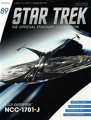 Star Trek Official Starship Collection Issu 89 USS Enterprise NCC-1701-J (87 88)