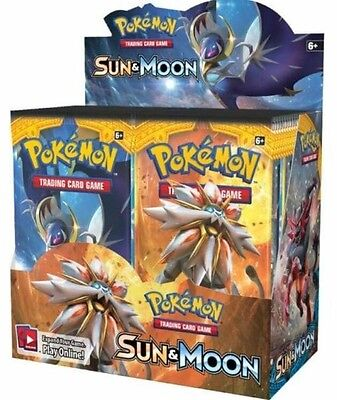 Pokemon Sun And Moon Booster Box SM01 FREE EXPRESS SHIPPING, * PRE ORDER NOW*