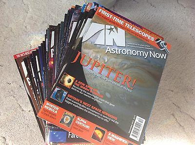Astronomy Now Magazines Collection Bundle 2013 - 2015 Over 30 Magazines