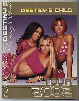 Destiny's Child - Tour 2002 JAPAN PROGRAM 2002