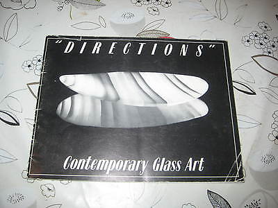 Directions Contemporary Glass Art British Artist In Glass Book Catalogue