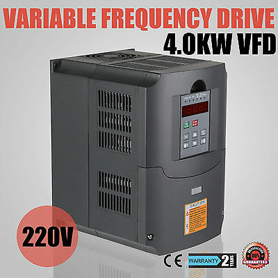 4KW 5HP Frequenzumrichter Variable Frequency Driver Low-Output VSD 220V 3 Phase