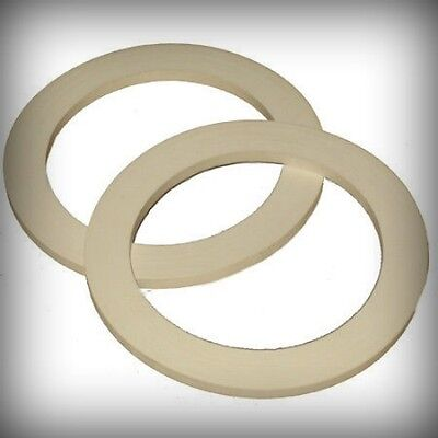2 Silicone Spare Seals Gaskets For Espresso Moka Stovetop Coffee Makers  6 Cup
