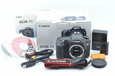 Near mint Canon 7D Body with Box 76994