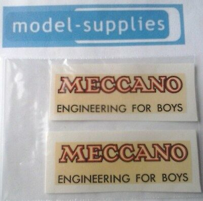 Dinky 25B covered wagon reproduction Meccano decals