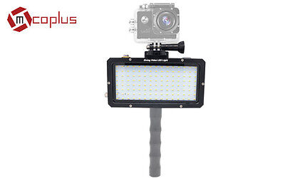 Mcoplus 2500 lumen LE-200Y Diving video led light with Gopro.Camcorder connector