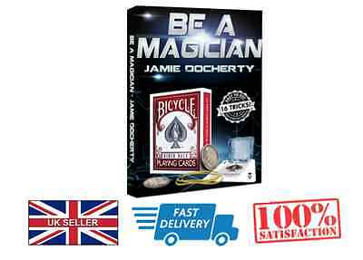 Learn how to 'Be A Magician' - Magic Trick DVD  - Christmas Present