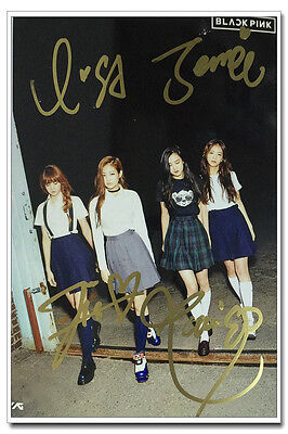 Signed Blackpink in-album SQUARE ONE Photo Hand Autograph Authentic onsale