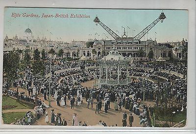 Gb,   1910 Japan Exhibition  Card Used With Cachet