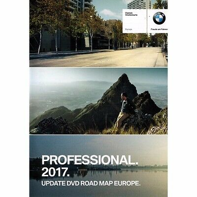 BMW Navigation DVD Road Maps Europe Professional 2017 West Middle East Set of 3