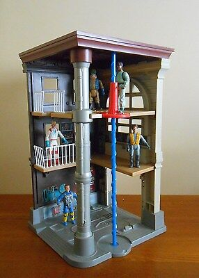 Kenner 1987 GHOSTBUSTERS FIRE STATION HQ Original Playset Real Ghostbusters