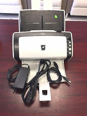 FUJITSU FI-6130 DESKTOP DUPLEX COLOR SCANNER, with A/C Adapter and Trays