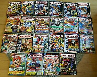 SUPER NINTENDO OFFICAL MAGAZINES  22 gaming Mags