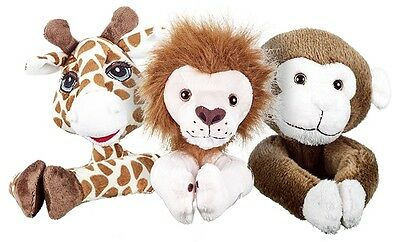 Animal curtain tiebacks kids childrens jungle safari bedroom cuddly toy tieback