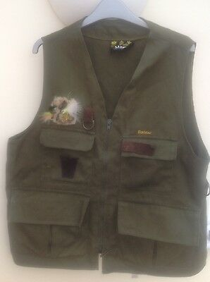 Barbour Mens Vintage Fly Fishing Vest