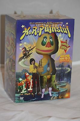 H.R. Pufnstuf DVD Box Set w/ Collectable Bobblehead Entire Series FREE SHIPPING!