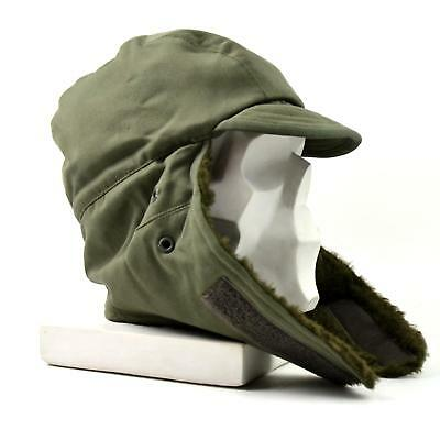 Original French Army Winter Hat. Cold weather army field cap fur
