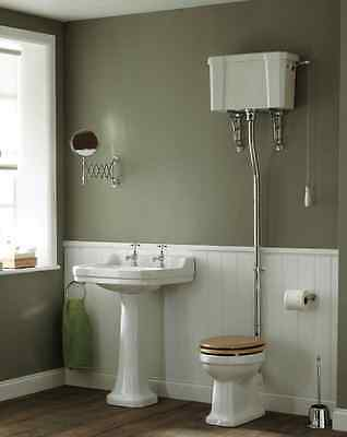Victorian Traditional Complete High Level Toilet Set