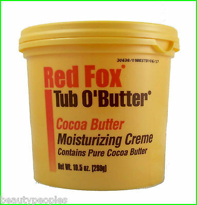 Red Fox Tub O' Butter Cocoa Butter Moisturizing Creme 298g