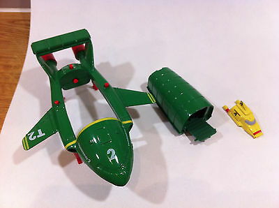 Vintage Thunderbirds 2 and 4 by Matchbox 1992 Gerry Anderson  - Great condition