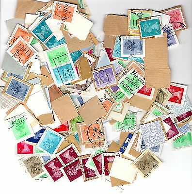 GREAT BRITAIN MACHINS 1 oz., assorted, on paper