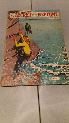 "Ancienne bd 1961 jean valhardi "" le secret de neptune """