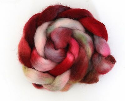 Shunklies Hand Dyed Massam Wool Combed Top 100g Mas6
