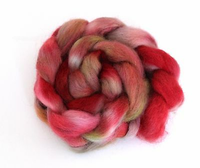 Shunklies Hand Dyed Massam Wool Combed Top 100g Mas5