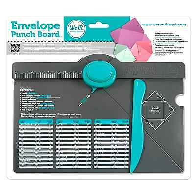 Envelope Punch Board Dimensional Paper Gift Template Maker 2-Way Tool 71277-0