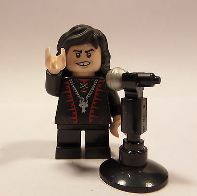 Lego Custom Ronnie James Dio with Microphone!